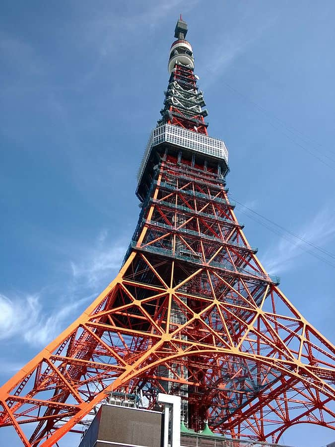 Tokyo Tower - Best Things to do in Tokyo