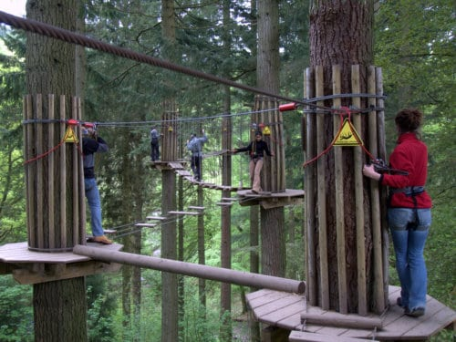 Go Ape Battersea Park - London With Kids