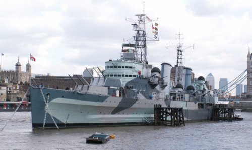 HMS Belfast - London With Kids