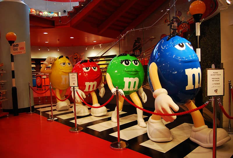 M&M store - London With Children