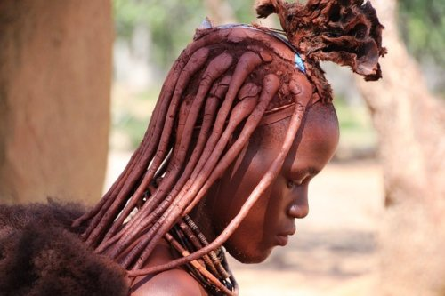 Himba Tribal Woman, Namibia