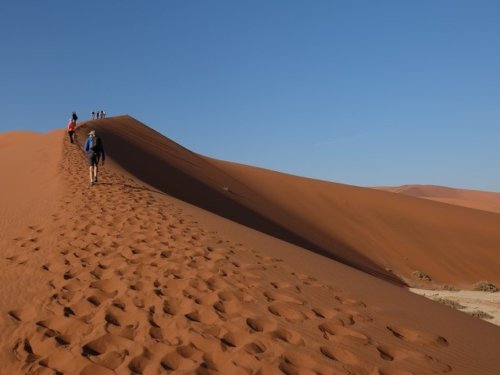World's Tallest Dunes in Sossusvlie, Namibia