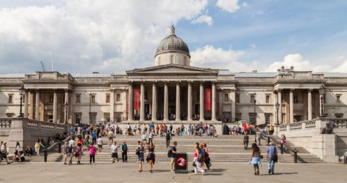 National Gallery - London With Kids