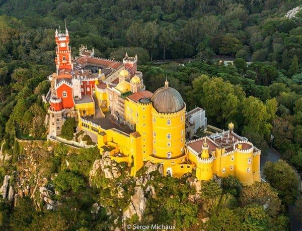 Palacio da Pena - Best Castles To Visit in Europe