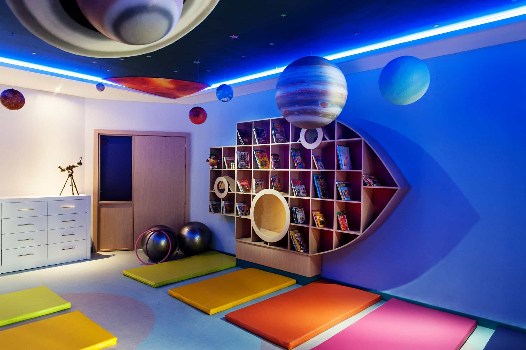 Games Area - Ritz Kids Club, Abama, Canary Islands