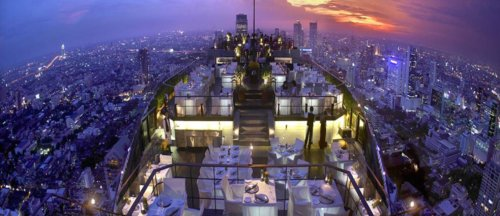 Rooftop Bars - Best Places to Visit in Bangkok