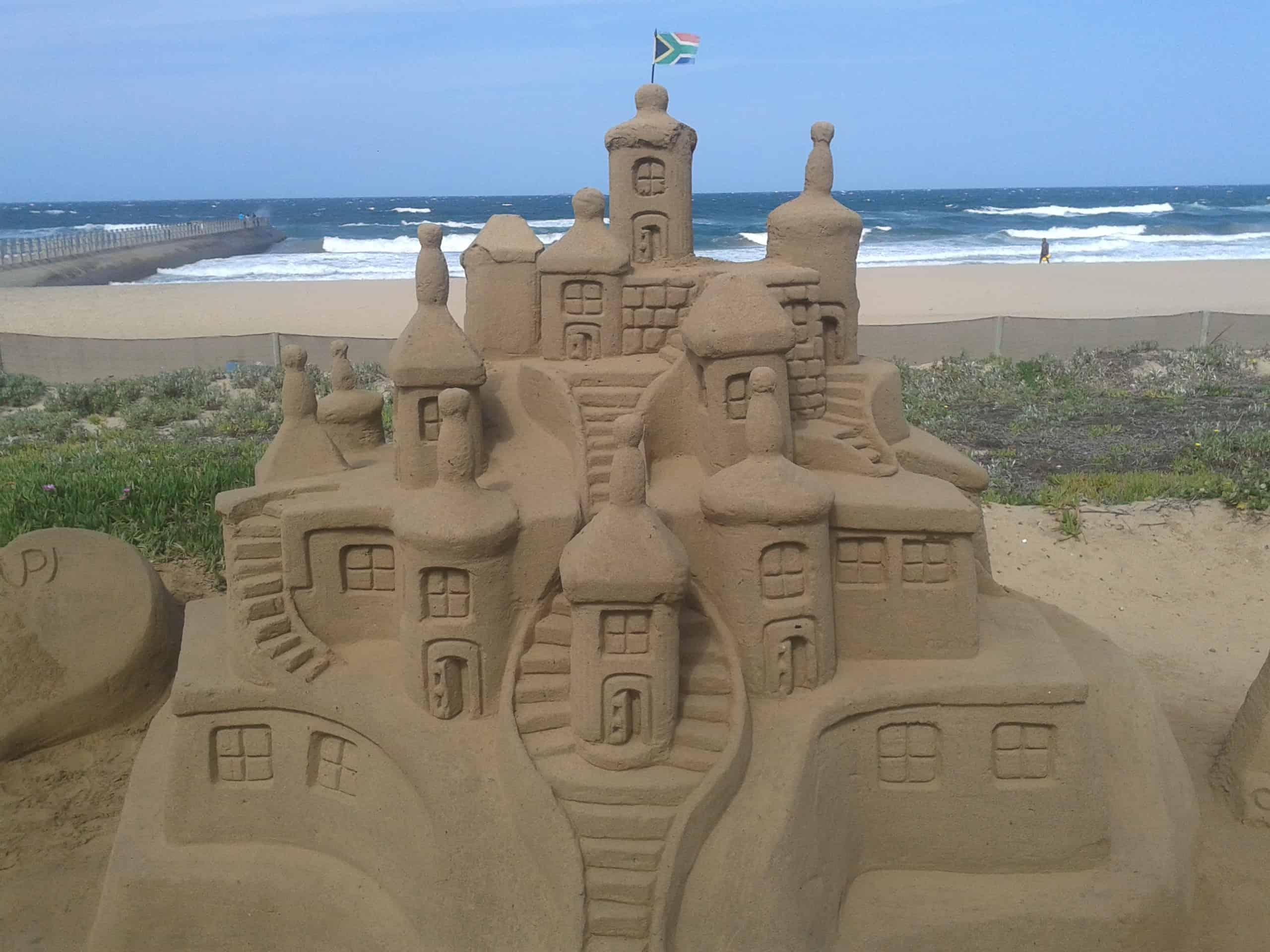 Sand Castle. Durban Beach