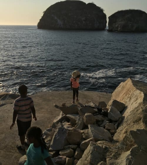 Rock climbing - Jalisco, Mexico with Kids