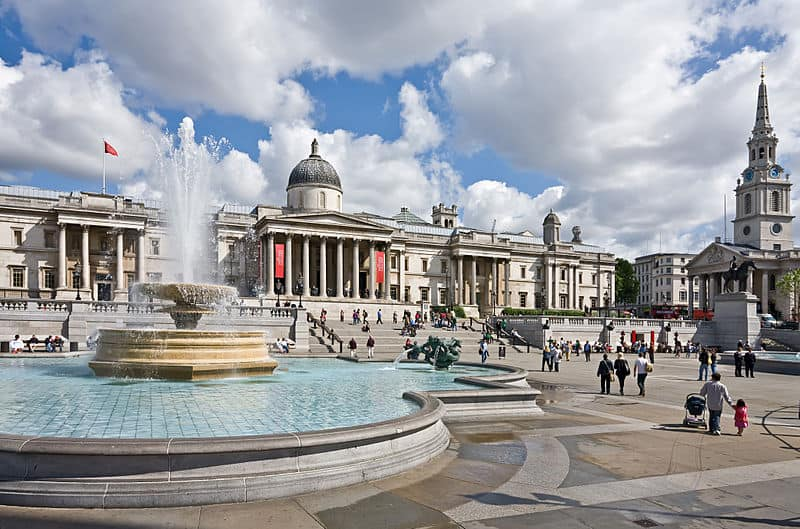 Trafalgar Square - London With Children