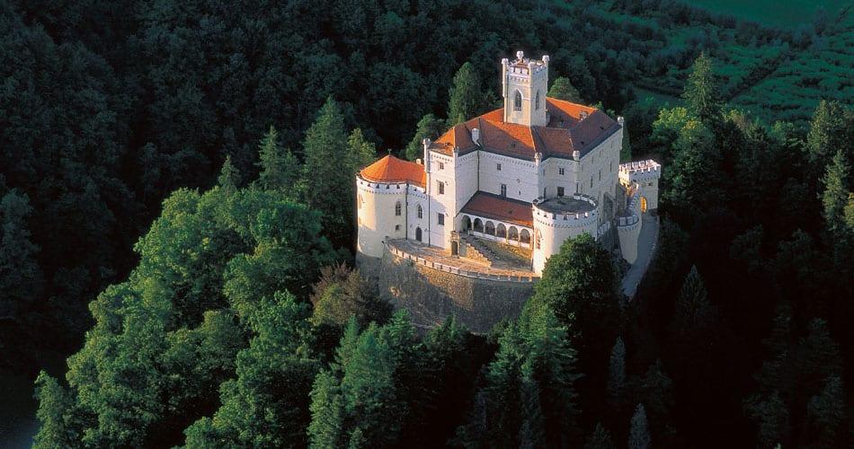 Dvorac Trakošćan - Best Castles To Visit in Europe
