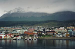 Ushuaia from the sea - Journey to End of the World