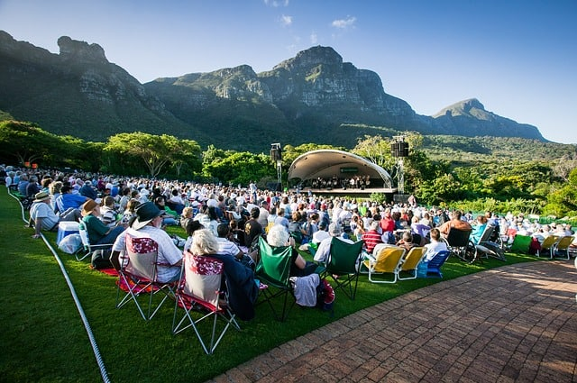 Concert in Kirstenbosch Botanical Garden