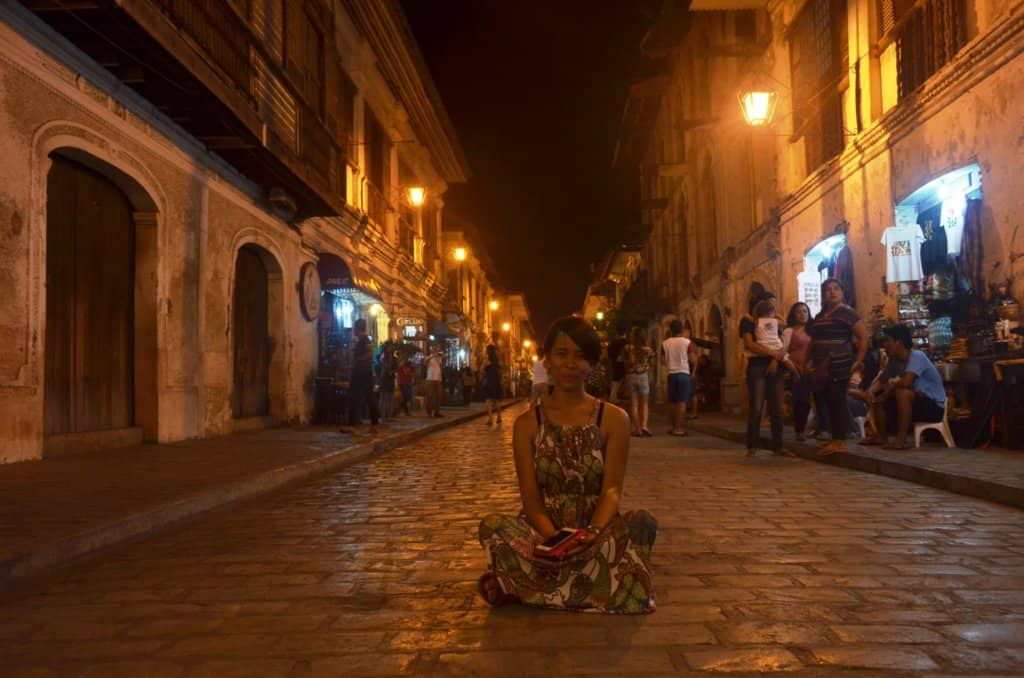 Calle Crisologo Nighttime