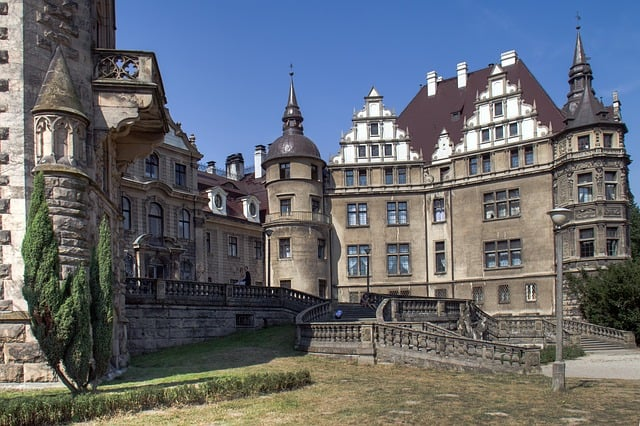 Moszna Castle - Best Castles To Visit in Europe