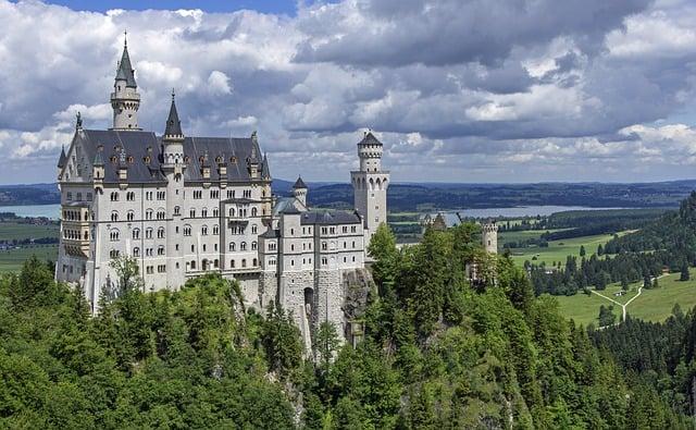 Neuschwanstein Castle - Best Castles To Visit in Europe