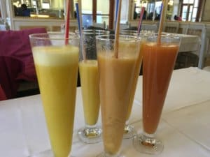 Fresh Fruit Juice - Cafe Paris in Sintra, Lisbon