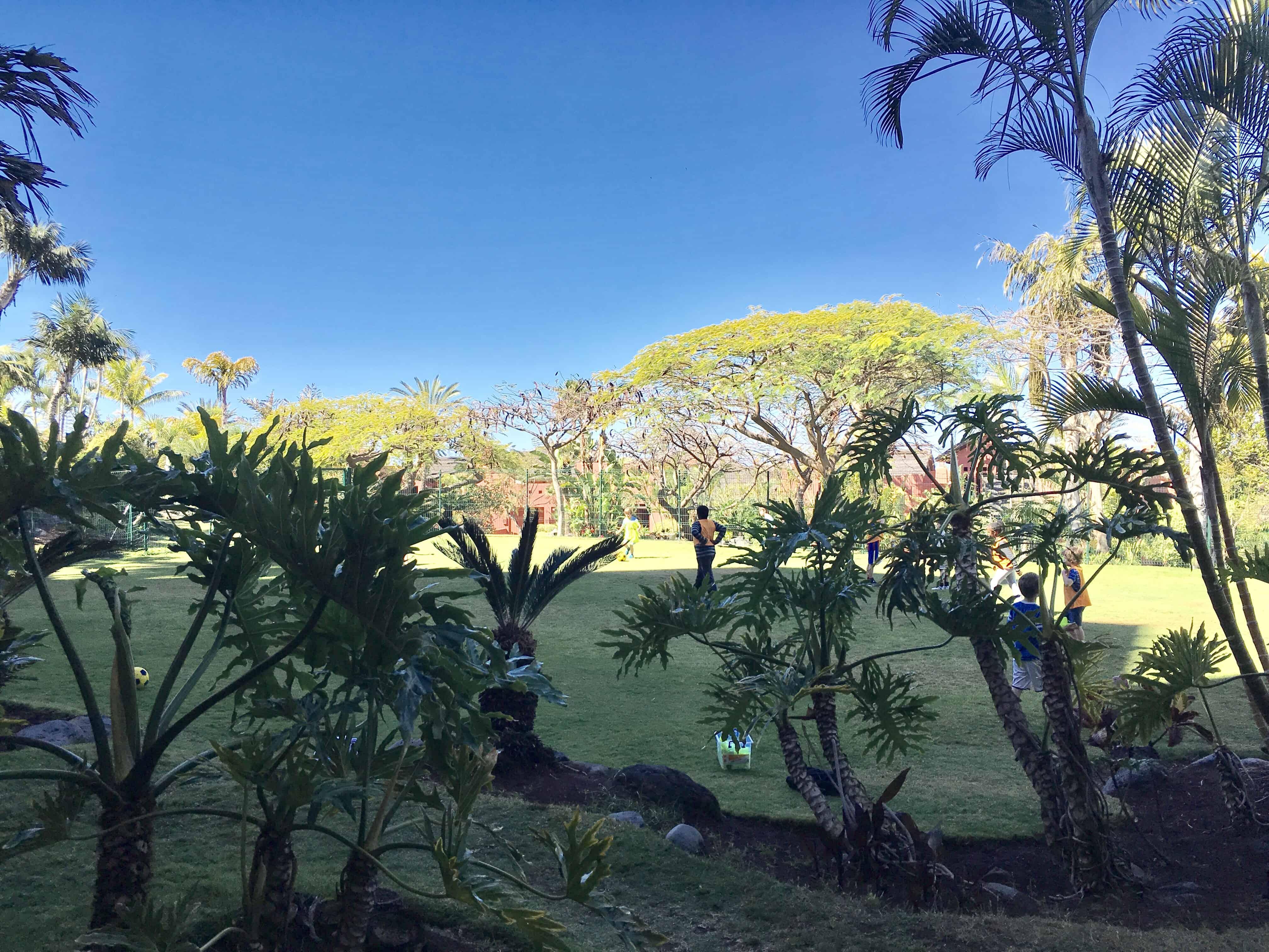 Lawn Games - Ritz Kids Club, Abama, Canary Islands