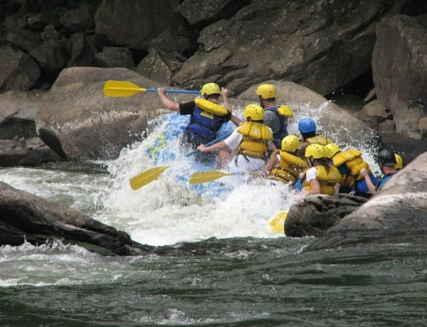 Water Rafting - Family Vacations in Queenstown