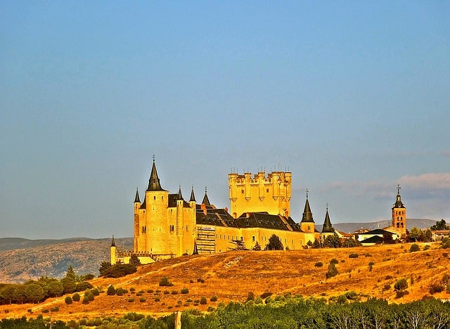 Alcázar of Segovia - Best Castles To Visit in Europe
