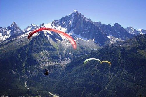 Paragliding - Family Vacation in Interlaken Switzerland