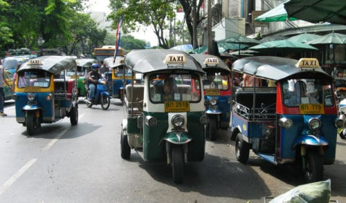Tuk-Tuk's - Best Places to Visit in Bangkok