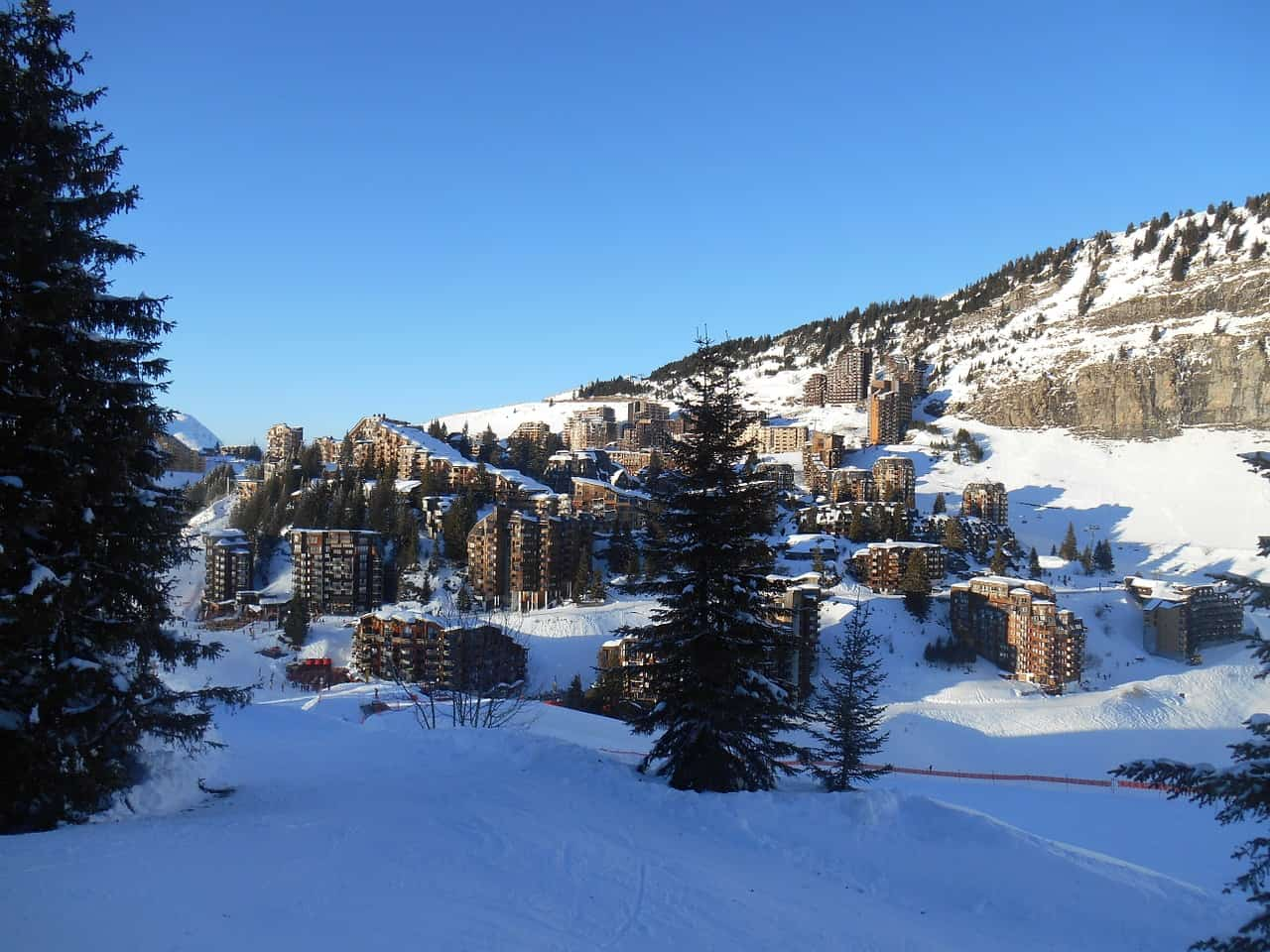 Ski Resort - Family Fun in the French Alps