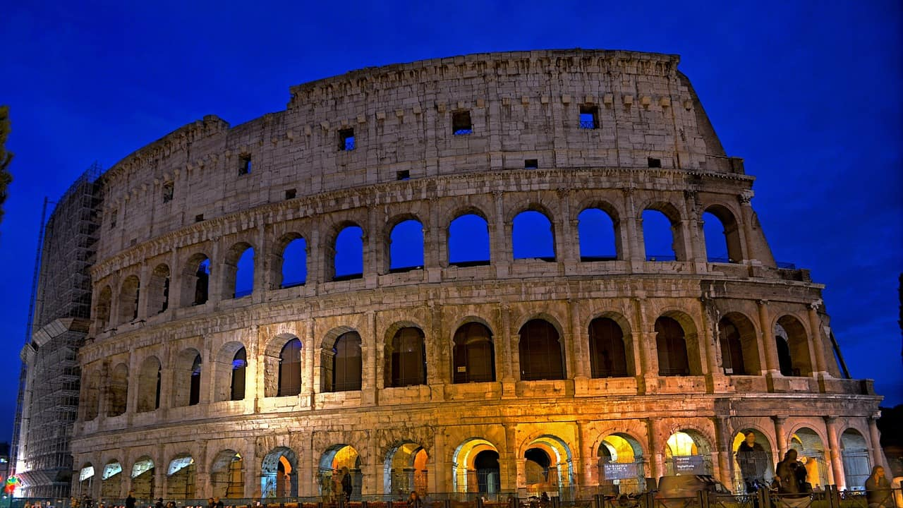 Colosseum - Rome With Family
