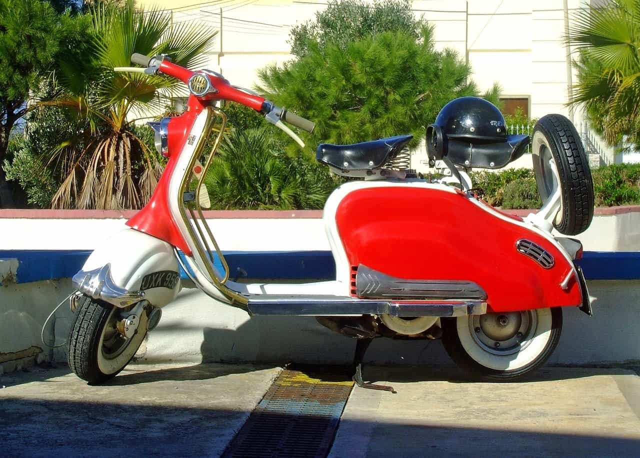 Scooter - Family Holiday in Northern Italy