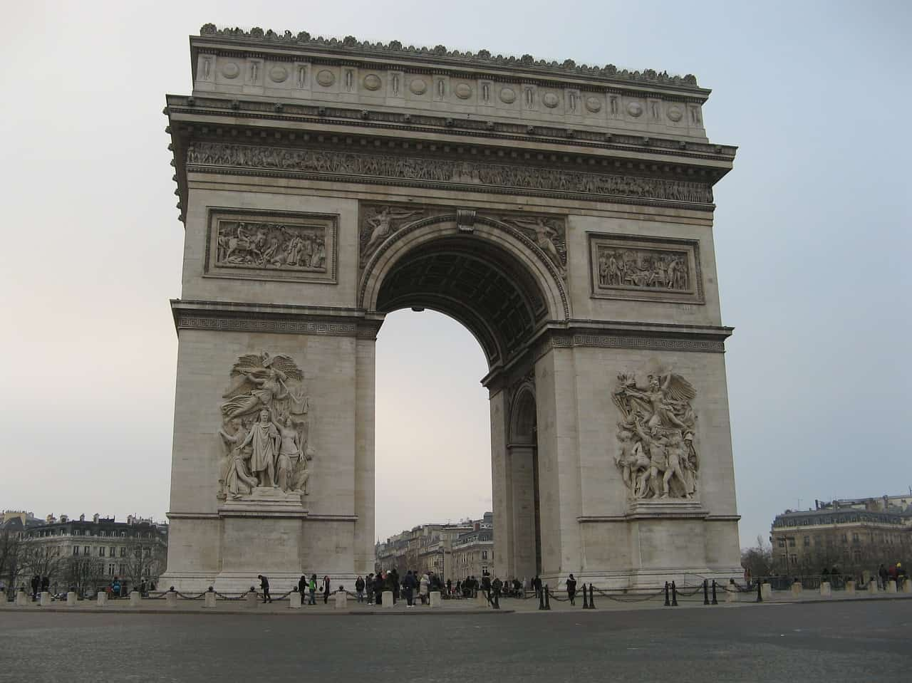 Triumphal Arch - Best Places to Visit in Paris