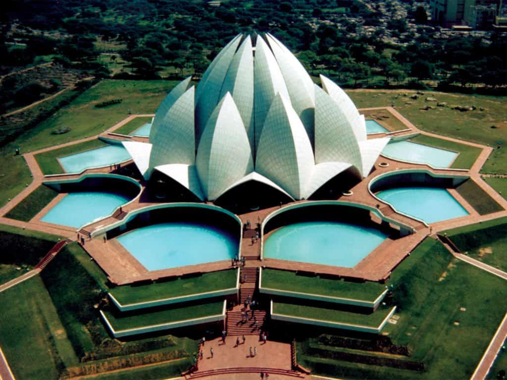 Lotus Temple, New Delhi, India - Best Temples in Asia