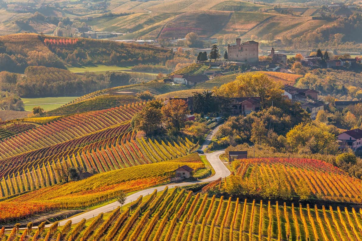 Piedmont, Italy - Most Beautiful Vineyards and Wine Regions in Europe