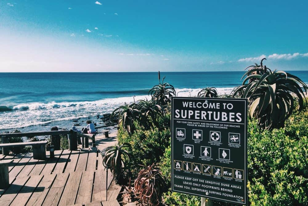Supertubes, Jeffrey's Bay - Best Places to Surf around the World