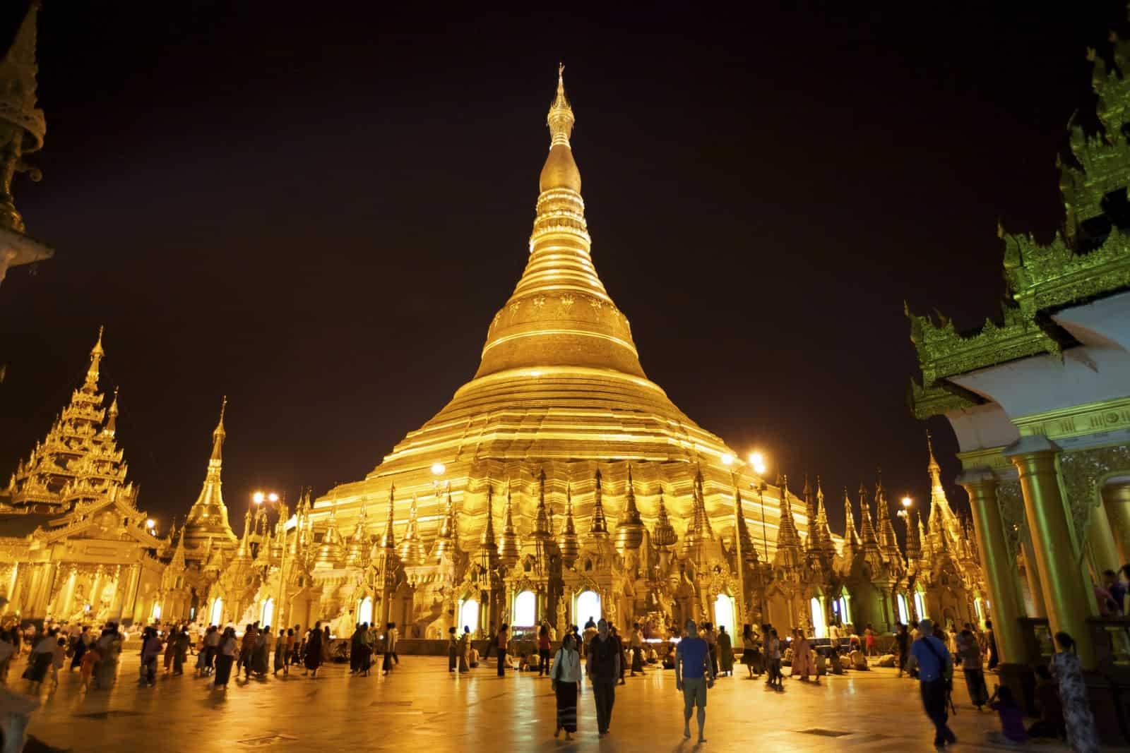 Shwedagon Pagoda, Yangon, Myanmar - Best Temples in Asia