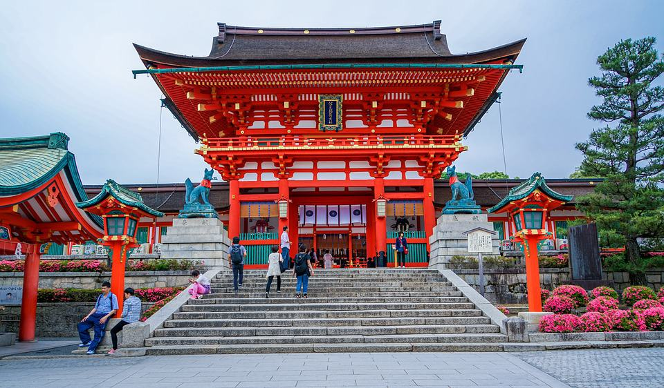 Fushimi Inari-taisha, Fushimi-ku, Kyoto, Japan