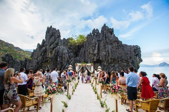 Miniloc Island El Nido Resorts - Best Picturesque Wedding Destinations in Asia