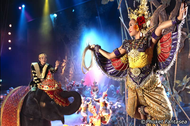 Fantasea Show - Best Things to Do in Phuket, Thailand