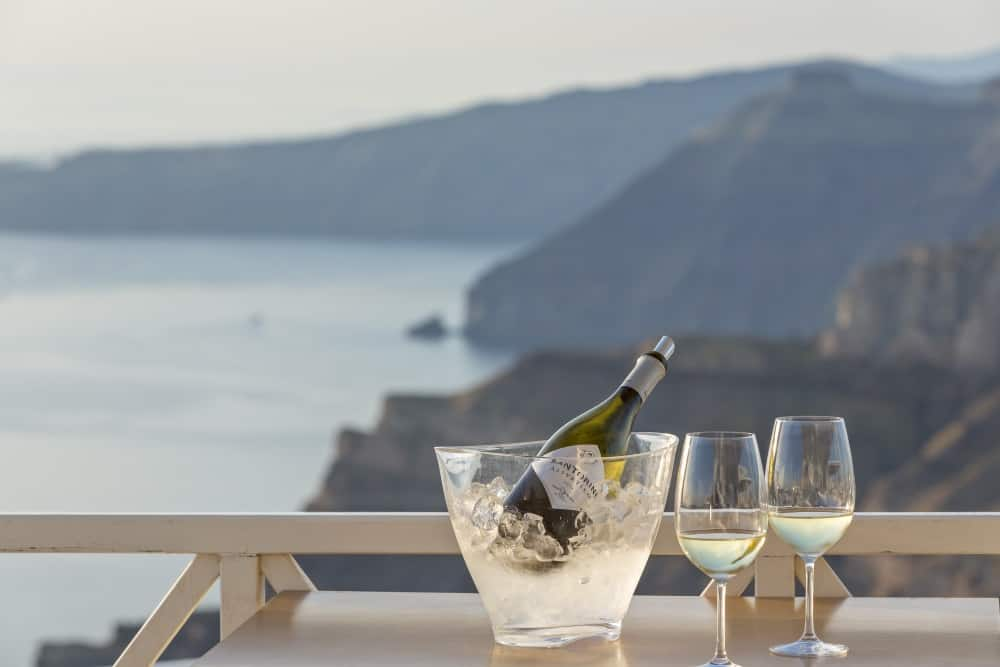 Santorini, Greece - Most Beautiful Vineyards and Wine Regions in Europe