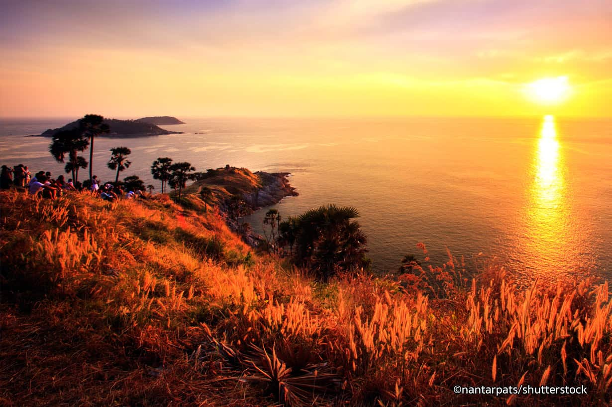 Sunset in Phromthep Cape - Best Things to Do in Phuket, Thailand