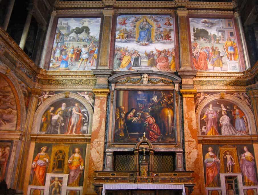 San Maurizio al Monastero Maggiore,, Milan
