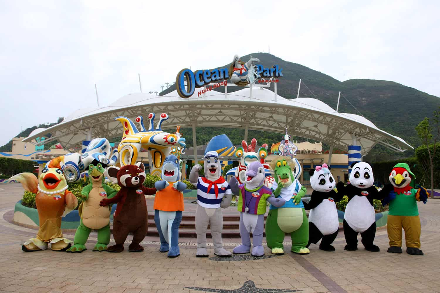 Ocean Park - Hong Kong with Kids