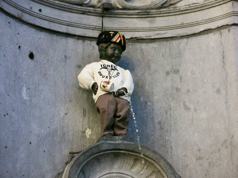 Manneken Pis - Brussels With the Kids