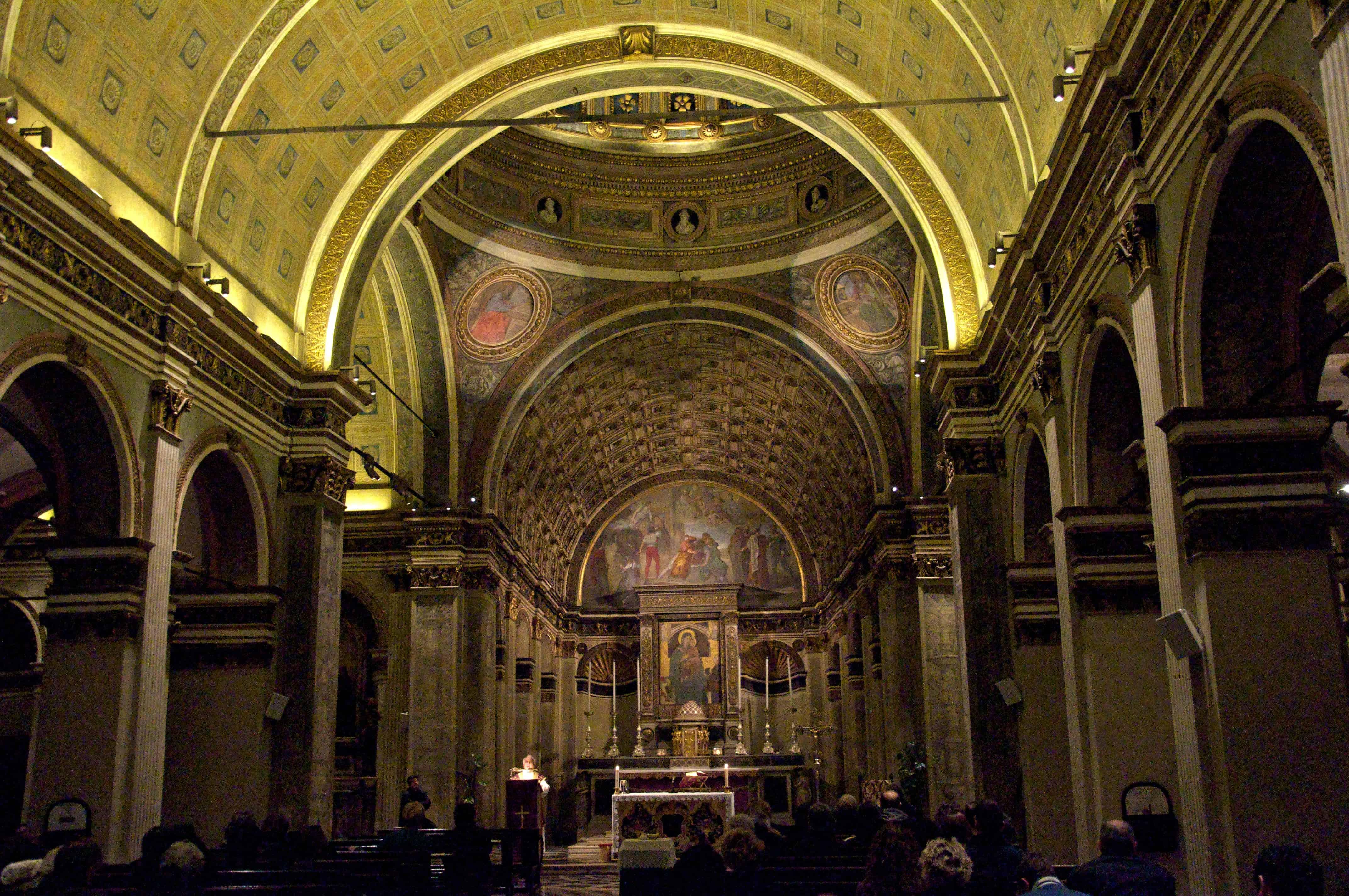Chiesa Santa Maria Presso di San Satiro, Milan