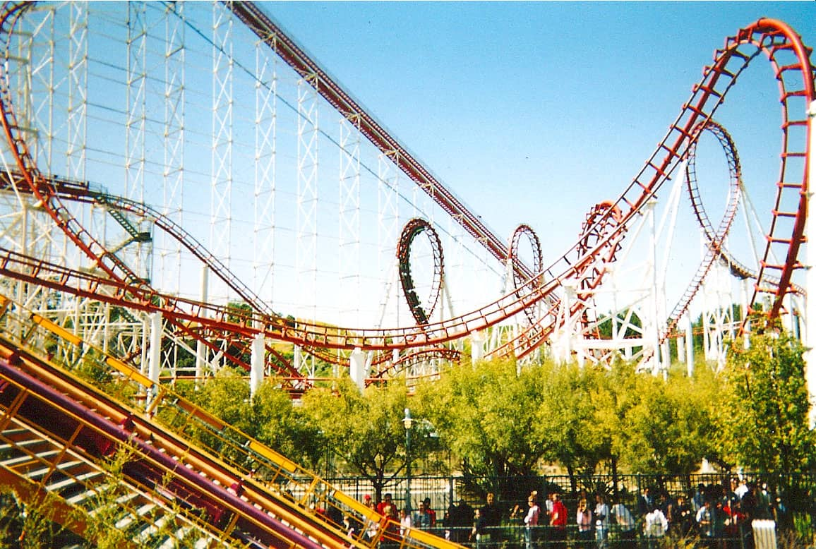 Six Flags Magic Mountain - Santa Clarita - Best Amusement Parks in the World