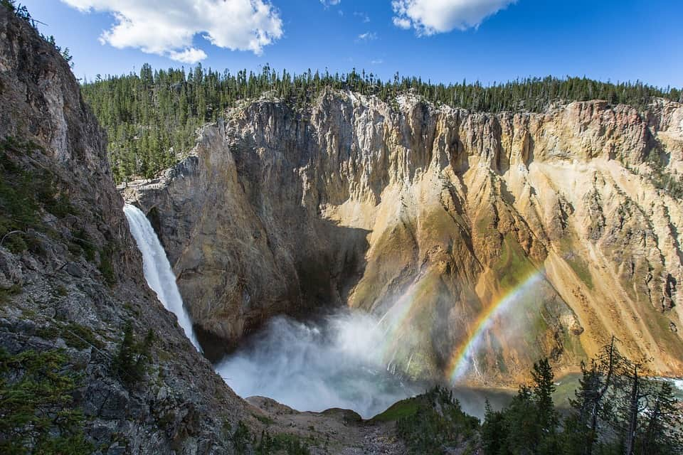 Yellowstone National Park Waterfalls
