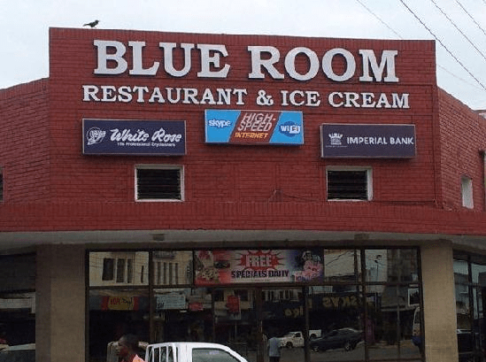 Blue Room Restaurant and Ice Cream