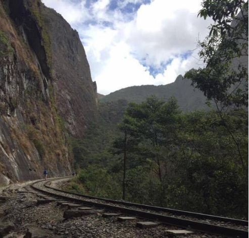 Train Tracks to Aguas Calientes - How to Reach Machu Picchu