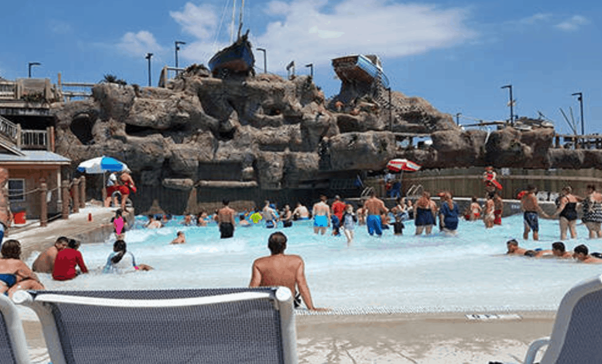 Casino Pier and Breakwater Beach Waterpark - New Jersey Vacation Spots