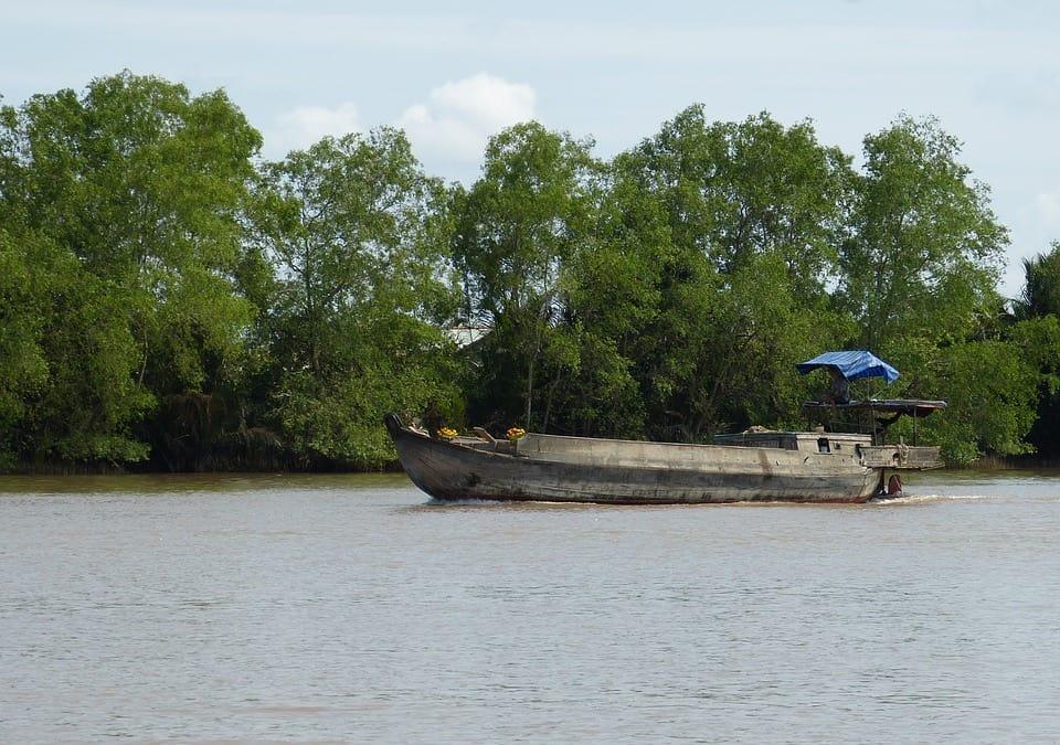 Phnom Penh - Mekong River, Southeast Asia