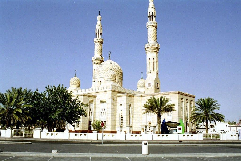 Jumeirah Mosque - Dubai With Kids
