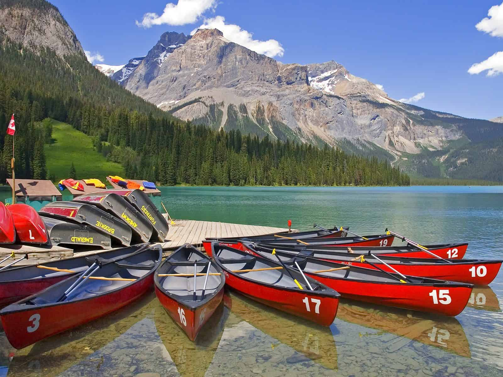 Yoho National Park - Most Breathtaking National Parks in Canada